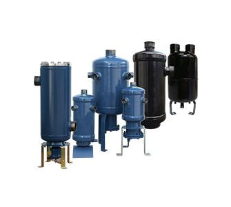 Oil- and liquid separators